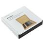 Steak Knife Set Mignon Wood Box - Stainless Steel, 8 Piece