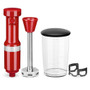 Hand Blender Corded - Empire Red, Variable Speed