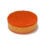 Two Sided Sponge - Orange Fruit Design, 2-Pack