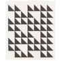Swedish Dishcloth - Black, 6.5 x 8-in