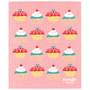 Swedish Dishcloth - Cake Walk, 6.5 x 8-in