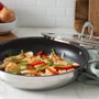 Accolade Everyday Pan + Glass Lid - Granite Nonstick, 28cm