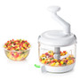 Manual Food Processor - White, 4-cup