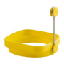Reversible Silicone Egg Ring - Yellow