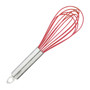 Balloon Whisk - Red Silicone, 10-in