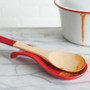 Spoon Rest - Stoneware, Red