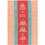 Kitchen Towel Jacquard - Cake Walk, 18 x 28-in