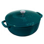La Mer Round French Oven - Rooster Design, 3.6L
