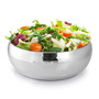 Raindrop Salad Bowl - Hammered Stainless Steel, 11-in