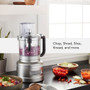 Food Processor with Dicing Kit - Contour Silver, 13-Cup