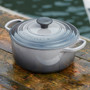 Oyster Oval French Oven - Cast Iron, 4.7L