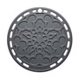 Oyster Silicone French Trivet, 8-in