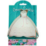 Gown Cookie Cutter, 4-in