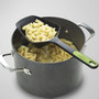 Scoop Plus Colander Spoon - Grey, 14.5-in