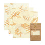 Reusable Food Wrap - Honeycomb Print, Medium 3-Pack