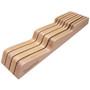 In Drawer Knife Tray - Beechwood, 7 Slots