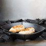 Logic Pre-Seasoned Square Grill Pan, 10.5-in