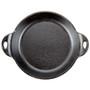 Round Mini Server - Heat-Treated Cast Iron