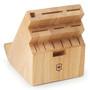 Swivel Universal Knife Block - Natural Wood, 13 Slots