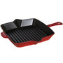 Square American Grill Pan - Cherry, 10-in