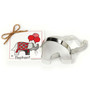 Elephant Cookie Cutter - Traditional, 5.12-in