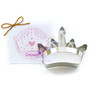 Crown Cookie Cutter - Traditional, 4.75-in
