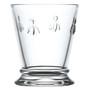 Bee Glass Tumbler - Clear, 9.5oz