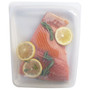 Reusable Large Silicone Food & Sous Vide Bag, Clear