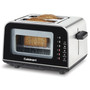 ViewPro Glass 2-Slice  Toaster, Black & Stainless