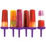 Star Pop Molds - Vivid Violet, Set of 6