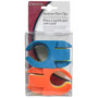 Stemware Plate Clips - Assorted Colours, Pack of 6