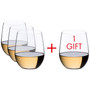 O series - Pay 3 Get 4 Chardonnay Viognier Tumblers, Set of 4