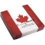Cocktail Paper Napkins - Canadian Flag , Pack of 20