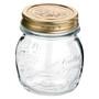 Quattro Stagioni Canning Jar - Clear Glass, 250ml