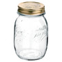Quattro Stagioni Canning Jar - Clear Glass, 500ml