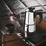 Musa Stovetop Coffee Maker - Stainless Steel, 6 Cup