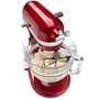 Stand Mixer 6Qt Pro 6500 with Glass Bowl - Candy Apple Red