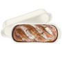 Italian Bread Loaf Baker - Linen, 13.4 x 5.3-in