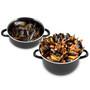 Mussel Pot - Enamel, Black