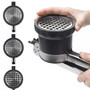 Potato Ricer - 3-in-1 Adjustable, Stainless Steel