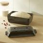 Bread Loaf Baker - Fusain, 9.4 x 5-in