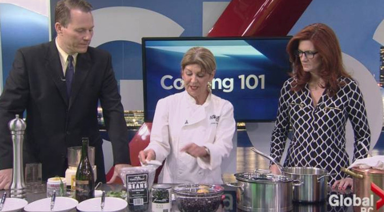 SUNDAY, AUGUST 27 | GLOBAL TV: COOKING 101 - BACK TO SCHOOL LUNCH