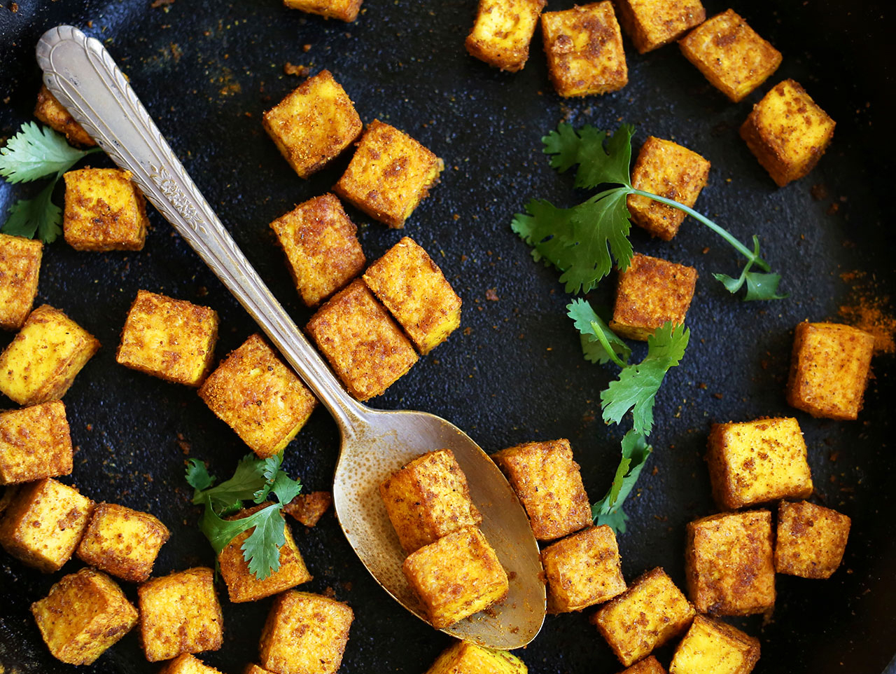 Spicy Asian Glazed Tofu