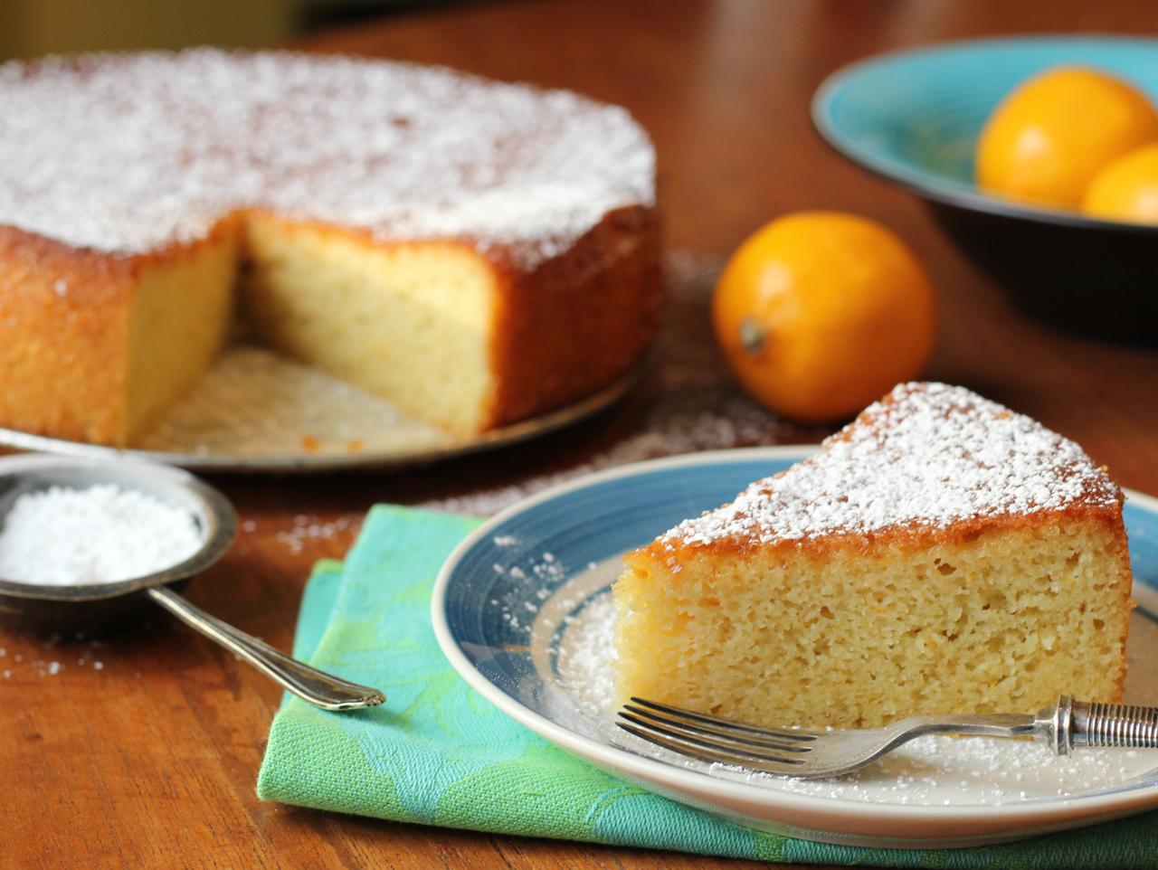 Citrus Olive Oil Cake
