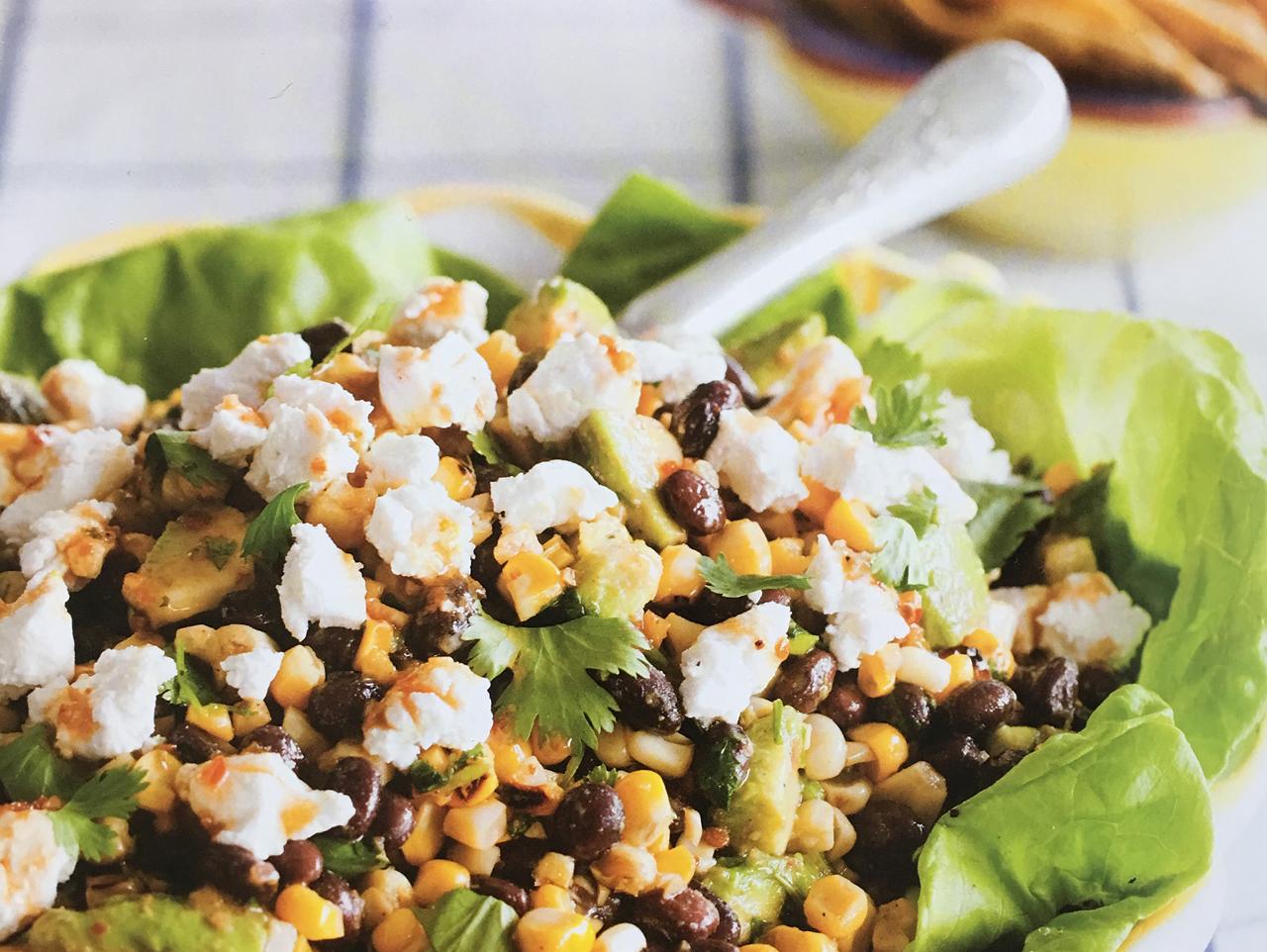 Corn, Bean and Avocado Salad