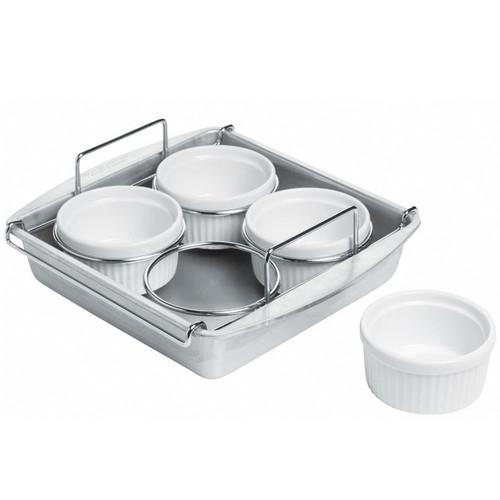 White Porcelain 5.5 inch Cr/ème Brulee Dish