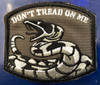 DON'T TREAD ON ME PATCH - BK