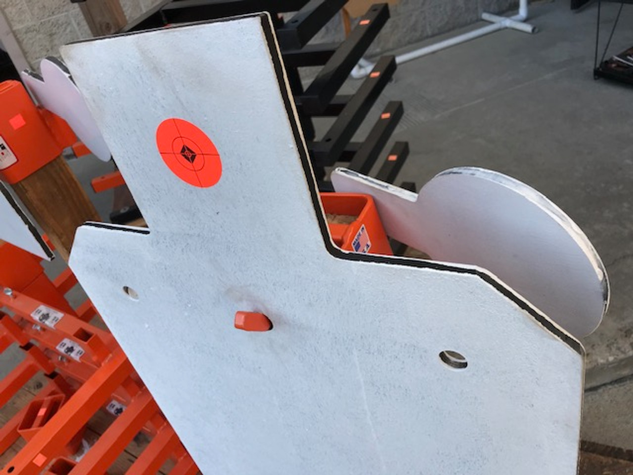 """Full Size IPSC 18"""" X 30"""" Steel Shooting Target Plate"""