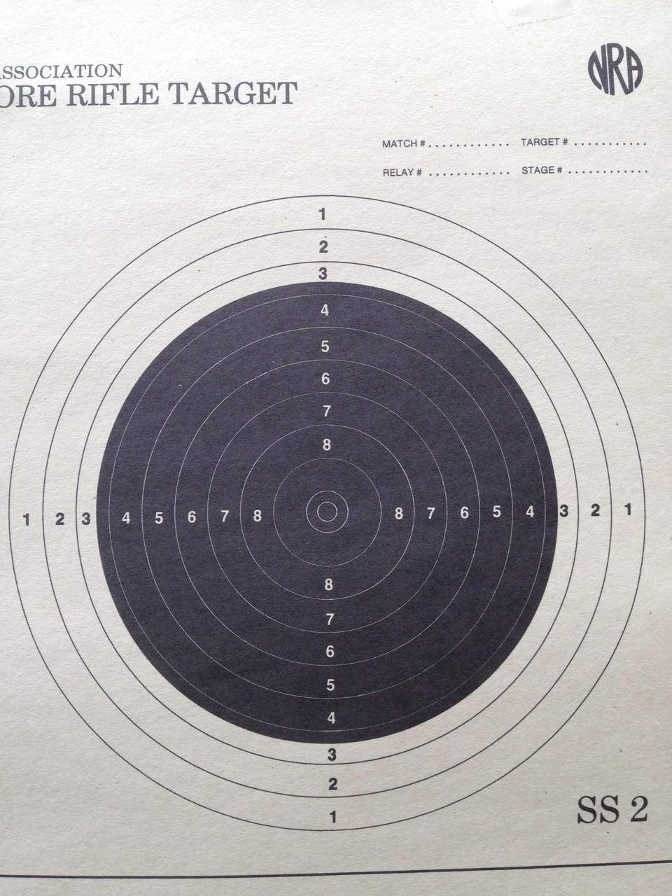 A-50 Shooting Target