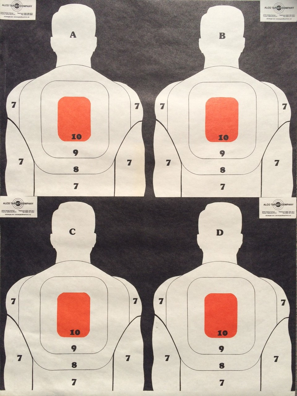 BT-5 Variety Pack A Shooting Target